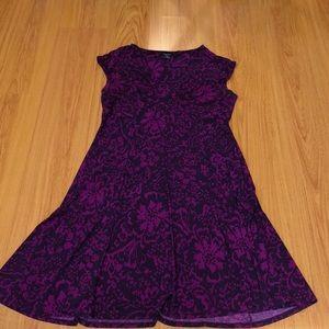 Beautiful Chaps dress; size L